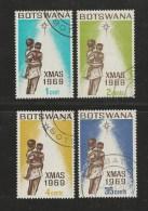 BOTSWANA 1969 CTO Stamp(s) Christmas 54-57 #1574 - Christmas