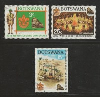 BOTSWANA 1969 CTO Stamp(s) Scouting 51-53  #1573 - Scouting