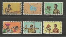 BOTSWANA 1978 CTO Stamp(s) Okavanga Delta 215-220  #1602 - Holidays & Tourism