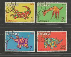 BOTSWANA 1970 CTO Stamp(s) Christmas 67-70 #1578 - Christmas