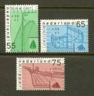 NEDERLAND 1989 MNH Stamp(s) Ships 1424-1426 #7095 - Period 1980-... (Beatrix)