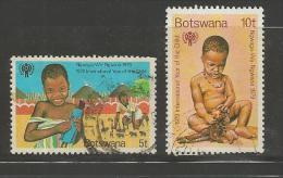 BOTSWANA 1979 CTO Stamp(s) Year Of The Child 237-238  #1607 - Childhood & Youth