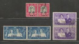 SWA 1947 CTO Stamp(s) Royal Visit 252-257 #3206 - Royalties, Royals