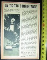 DOCUMENT PHOTO AUTODROME TINTIN MONTRE PONTIAC KUIFJE VOITURE ENFANT - Publicidad