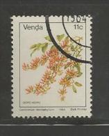 VENDA 1984 CTO Stamp(s) Definitives Flower 11c 90 - Plants