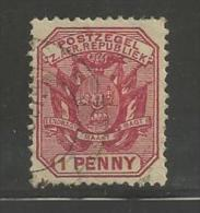SOUTH AFRICA TRANSVAAL 1894 Used Stamp  Definitives 1d Red Nr. 36 - South Africa (...-1961)
