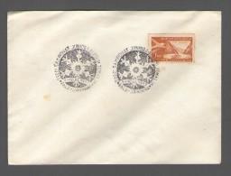 YUGOSLAVIA JUGOSLAVIJA 1967  COMMEMORATIVE SEAL PALE-JAHORINA 3.SAMPIONAT JUNIORA ALPSKIH ZEMALJA - Covers & Documents