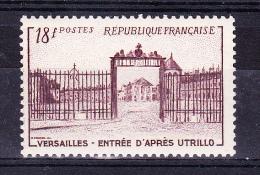 FRANCE  1952   Versailles Castle - Gate     ,  Y&T   #   939,    Cv  3.50  E  ,    ** M N H , V V F - France