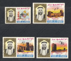 Umm Al Qiwain, Yvert SPA1/4, Scott CO1/4, MNH - Umm Al-Qiwain