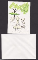 Sweden Cards Invitations With Envelopes Designed By Stina Wirsen - Published By Sweden Post - Andere