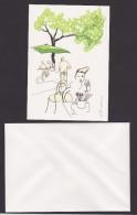 Sweden Cards Invitations With Envelopes Designed By Stina Wirsen - Published By Sweden Post - Andere Verzamelingen