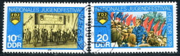 DDR - Mi 2426 / 2427 Einzeln - OO Gestempelt (C) - 10+5-20Pf         Jugendfestival Berlin - Oblitérés