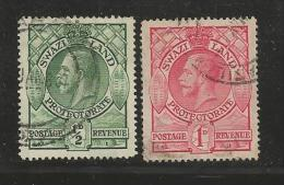 SWAZILAND 1933 Hinged Stamp(s) Definitives 10-19 23 Values Only, Thus Not Complete - Swaziland (1968-...)