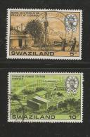 SWAZILAND 1978 CTO Stamp(s) Electricity 289=292  2 Values Only Thus Not Complete - Swaziland (1968-...)