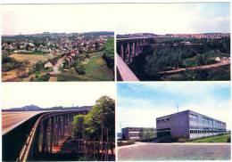FRIEDRICHSTHAL - Saar - Teilansicht - Ostschachtsiedlung Sulzbachtalbrücke - Edith-Stein-Schule - MS7 - D-1 - Germany