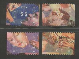 NEDERLAND 1996 December Zegels Gebruikt 1702-1705 # 1325 - Used Stamps