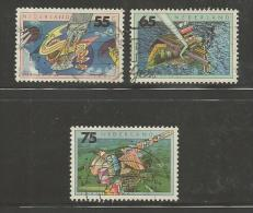 Nederland 1991 Milieu Zegels Gebruikt 1462-1464 # 1292 - Used Stamps