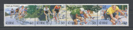 IRLANDE 1998 N° 1085/1088 ** Neufs = MNH Superbes Cote 6 € Sports Cyclisme Tour De France - Unused Stamps