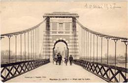 MUIDES - Pont Sur La Loire   - Pont Suspendu (64054) - Altri Comuni