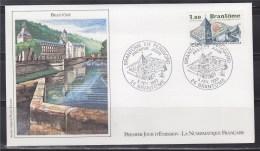 = Abbaye 24 Brantôme 5 2 83 N°2253 Enveloppe 1er Jour Vue Générale De L'abbaye - 1980-1989