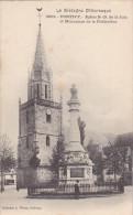22511 PONTIVY. EGLISE NOTRE DAME DE LA JOIE , Et Monument Fédération -2802 Waron St B -