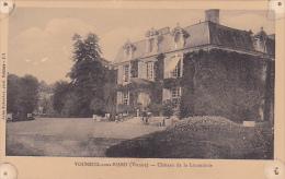22512 VOUNEUIL SUR VIENNE - Château De La Luzanderie -jules Robuchon 821? Poitiers ! état Trous ! - Vouneuil Sous Biard