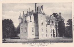 22514 Saint Julien L'ars Chateau Facades Sud Et Est -jules Robuchon Poitiers 1013