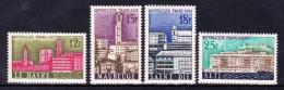 FRANCE  1958   Towns Reconstruction,   Y&T   #   1152/5   Cv  4.50  E  ,    ** M N H , V V F - Unused Stamps