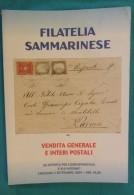 CATALOGO D'ASTA FILATELIA SAMMARINESE - S. MARINO 2004 - - Cataloghi Di Case D'aste