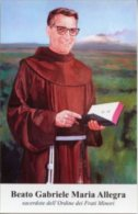 Santino BEATO GABRIELE MARIA ALLEGRA (Ordine Frati Minori) - PERFETTO F95 - Religione & Esoterismo