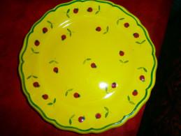 ASSIETTE DECORATIVE  F.SICARD - Céramiques