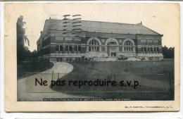 - METROPOLITAIN MUSEUM OF ART - Central Park, New York, 1898, écrite, 116 Ans, Stamps, Scans. - New York City