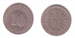 Germany 10 Pfennig 1874 C - 10 Pfennig