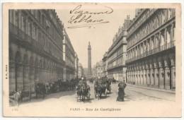 75 - PARIS 1 - Rue De Castiglione - BF 170 - District 01