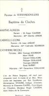 VERMANDOVILLERS (Somme) : Bénédiction Des Cloches 1959 - TBE - Francia