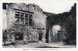 Nr.  817,  AK  Weltkrieg 1914-18, Zerstörte Dörfer Und Städte,  Marville - Weltkrieg 1914-18