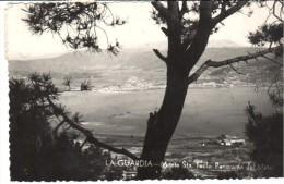 POSTAL   LA GUARDIA -PONTEVEDRA-  MONTE DE STA. TECLA  -PANORAMA DEL MIÑO - Pontevedra