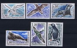 TAAF: Yv Nr 55-60 MNH/**, 1976 - Französische Süd- Und Antarktisgebiete (TAAF)