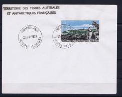 TAAF: Yv PA 14 KERGUELEN PINGOUINS LETTRE 21 Jan 1968 FDC - Franse Zuidelijke En Antarctische Gebieden (TAAF)