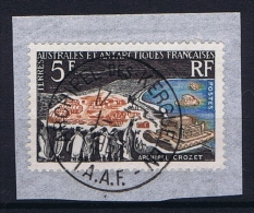TAAF: Yv 20 Used On Paper - French Southern And Antarctic Territories (TAAF)