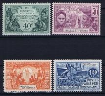 Iles Wallis Et Futuna Yv Nr 66-69 MH/* 1931 - Wallis En Futuna