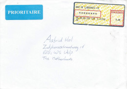 Czech 2001 Liberec Post Office Meter Franking EMA Cover - Lettres & Documents