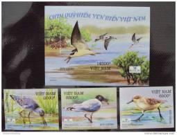 Vietnam Viet Nam MNH Imperf Withdrawn Stamps And Souvenir Sheet 2010 : Sea Birds / Bird (Ms992) - Viêt-Nam