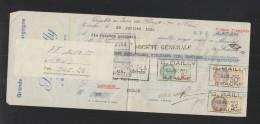 Cheque 1933 Beaune - Schecks  Und Reiseschecks