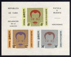 0136 - 1961 - Cuba - Sc. HB. C221a** - Declaracion De La Habana - MNH - 01 - Cuba