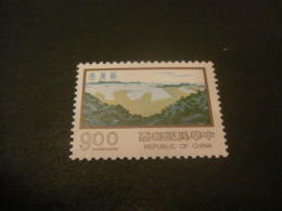K8162- Stamp MNH Rep. OF China- 1977- SC. 2076- Construction Type - $9 Olive - Nuovi