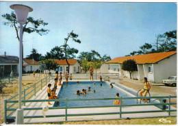 Carte Postale 33. Lacanau  La Piscine Colonie Des Tramways De Bordeaux Trés Beau Plan - Otros Municipios