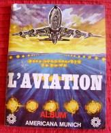 Album L'aviation Americana Munich (incomplet),panini,avion - Vignettes Autocollantes