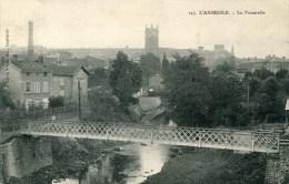 L4'ARBRESLE     La Passerrelle  1914 - L'Arbresle
