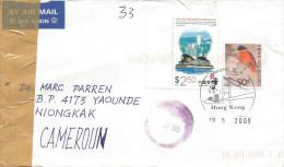 Hong Kong 2009 Mongkok Convention Centre Scarlet Minvet Bird Cover - 1997-... Speciale Bestuurlijke Regio Van China
